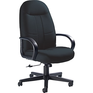 Global Custom Manager's Chair, Black, Premium Grade