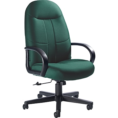 Global Custom Manager's Chair, Hunter Green, Premium Grade