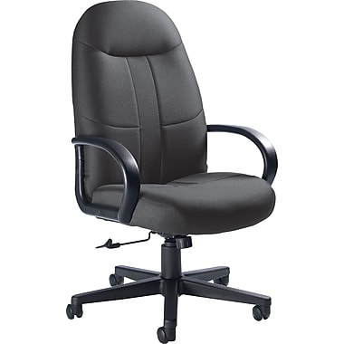 Global Custom Manager's Chair, Grey, Premium Grade