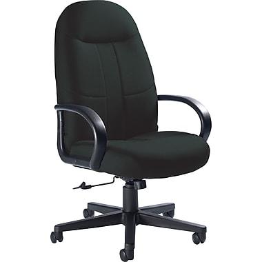 Global Custom Manager's Chair, Ebony, Premium Grade
