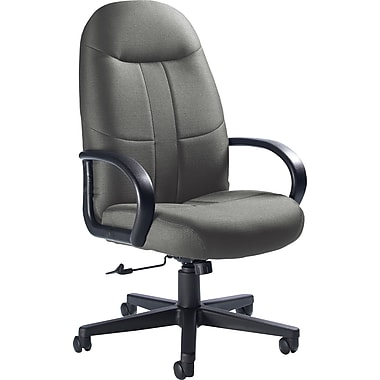 Global Custom Manager's Chair, Slate, Premium Grade