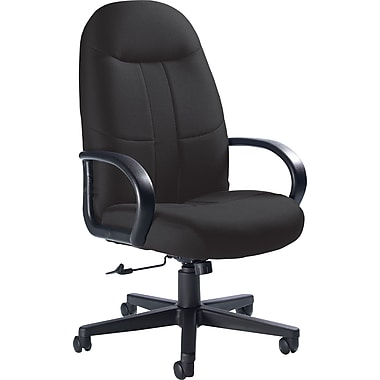 Global Custom Manager's Chair, Charcoal, Premium Grade