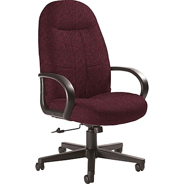 Global Custom Manager's Chair, Garnet, Premium Grade
