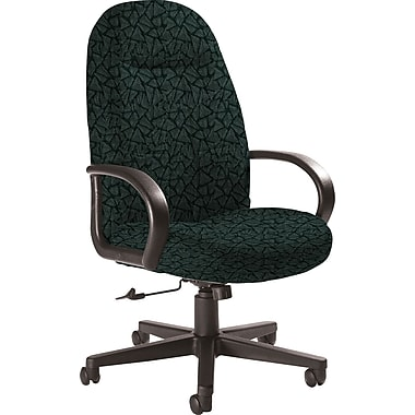 Global Custom Manager's Chair, Lagoon, Premium Grade