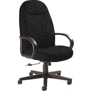 Global Custom Manager's Chair, Carbon, Premium Grade