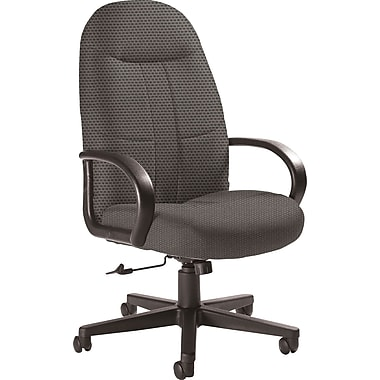 Global Custom Manager's Chair, Pewter, Ultra-Premium Grade