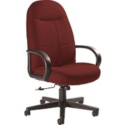 Global Custom Manager's Chair, Tomato, Ultra-Premium Grade