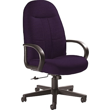 Global Custom Manager's Chair, Amethyst, Ultra-Premium Grade