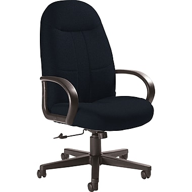 Global Custom Manager's Chair, Asphalt, Ultra-Premium Grade