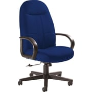 Global Custom Manager's Chair, Indigo, Ultra-Premium Grade
