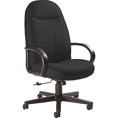 Global Custom Manager's Chair, Charcoal, Ultra-Premium Grade