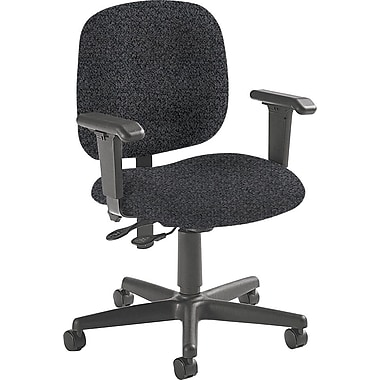Global Custom Adjustable Task Chair, Grey, Premium Grade