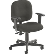 Global Custom Adjustable Task Chair, Slate, Premium Grade
