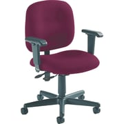 Global Custom Adjustable Task Chair, Vermilion, Premium Grade