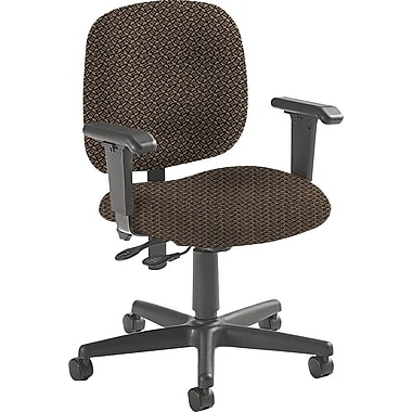 Global Custom Adjustable Task Chair, Clay, Premium Grade