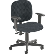 Global Custom Adjustable Task Chair, Stone, Premium Grade