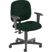 Global Custom Adjustable Task Chair, Cypress, Premium Grade