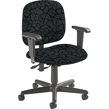 Global Custom Adjustable Task Chair, Carbon, Premium Grade