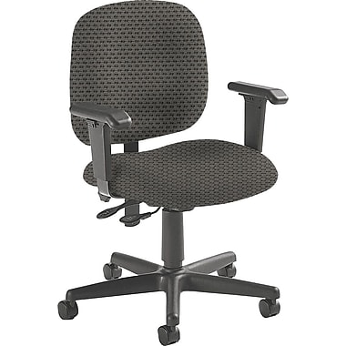 Global Custom Adjustable Task Chair, Pewter, Ultra-Premium Grade