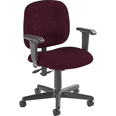 Global Custom Adjustable Task Chair, Cherry Fields, Ultra-Premium Grade