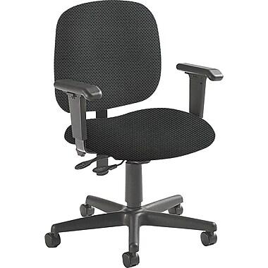 Global Custom Adjustable Task Chair, Thunderstorm, Ultra-Premium Grade
