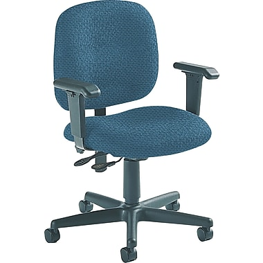 Global Custom Adjustable Task Chair, Blue Berry, Ultra-Premium Grade