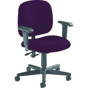 Global Custom Adjustable Task Chair, Amethyst, Ultra-Premium Grade
