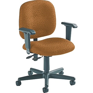 Global Custom Adjustable Task Chair, Ocre, Ultra-Premium Grade