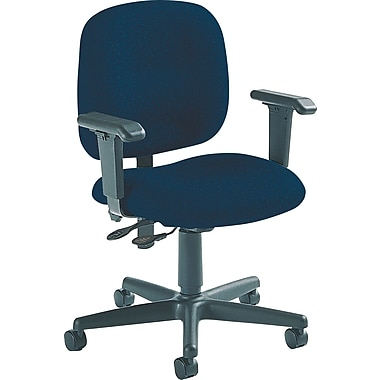 Global Custom Adjustable Task Chair, Asphalt, Ultra-Premium Grade