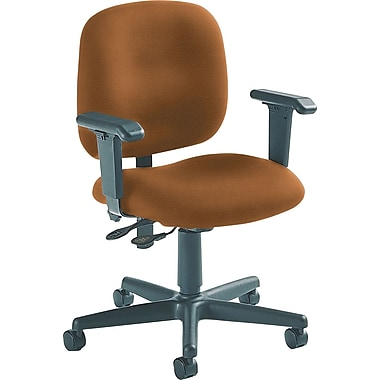 Global Custom Adjustable Task Chair, Acorn, Ultra-Premium Grade