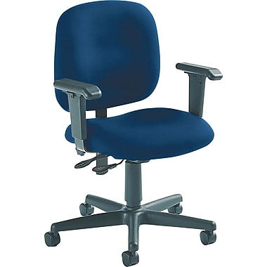 Global Custom Adjustable Task Chair, Indigo, Ultra-Premium Grade