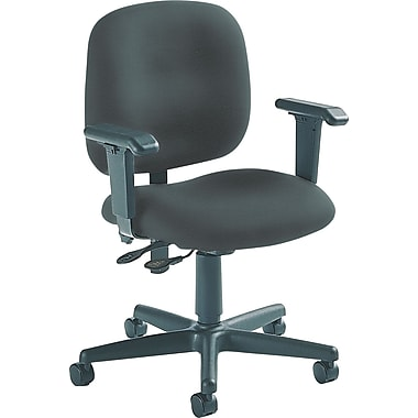 Global Custom Adjustable Task Chair, Charcoal, Ultra-Premium Grade