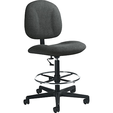 Global Custom Deluxe Drafting Chair, Grey, Premium Grade