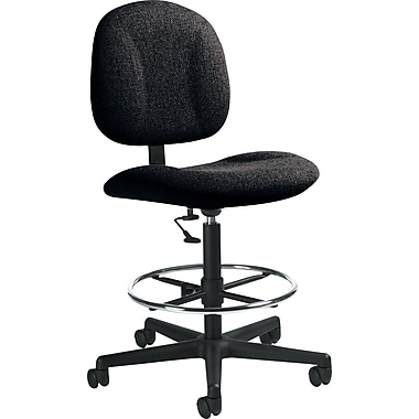 Global Custom Deluxe Drafting Chair, Slate, Premium Grade