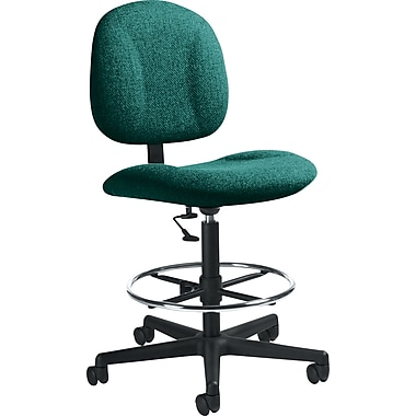 Global Custom Deluxe Drafting Chair, Spruce, Premium Grade
