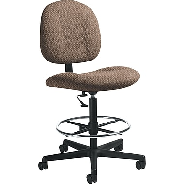 Global Custom Deluxe Drafting Chair, Clay, Premium Grade