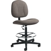 Global Custom Deluxe Drafting Chair, Fawn, Premium Grade