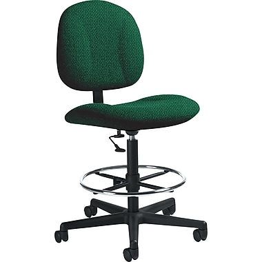 Global Custom Deluxe Drafting Chair, Atrium, Premium Grade