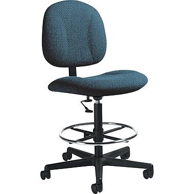 Global Custom Deluxe Drafting Chair, Ocean, Premium Grade