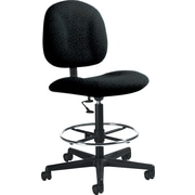 Global Custom Deluxe Drafting Chair, Java, Premium Grade