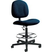 Global Custom Deluxe Drafting Chair, Arctic, Premium Grade