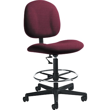 Global Custom Deluxe Drafting Chair, Cherry Fields, Ultra-Premium Grade