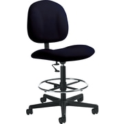 Global Custom Deluxe Drafting Chair, Volcanic Ash, Ultra-Premium Grade