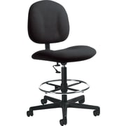 Global Custom Deluxe Drafting Chair, Thunderstorm, Ultra-Premium Grade