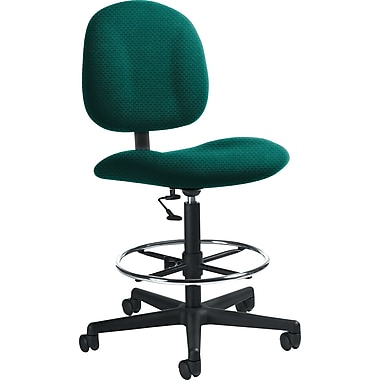 Global Custom Deluxe Drafting Chair, Blue Grass, Ultra-Premium Grade