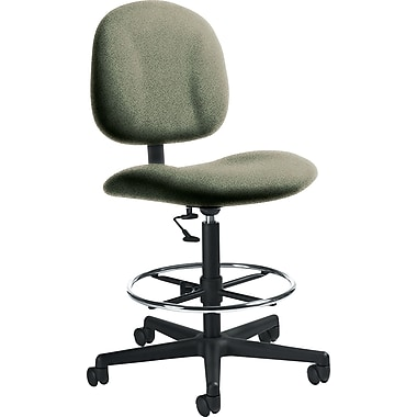 Global Custom Deluxe Drafting Chair, Jade, Ultra-Premium Grade