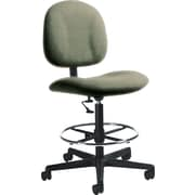 Global Custom Deluxe Drafting Chair, Jade, Ultra-Premium Grade