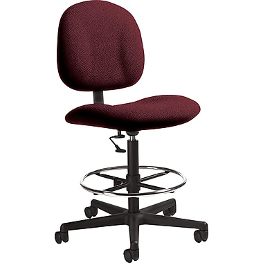 Global Custom Deluxe Drafting Chair, Claret, Ultra-Premium Grade