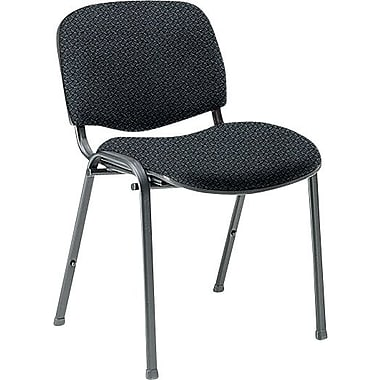 Global Custom Deluxe Stacking Chair, Stone, Premium Grade