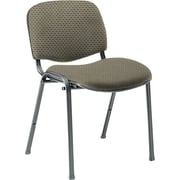 Global Custom Deluxe Stacking Chair, Melon, Ultra-Premium Grade
